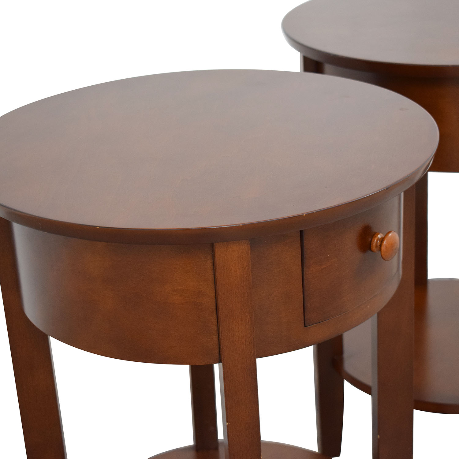 buy Pottery Barn Oval Nightstands Pottery Barn Tables