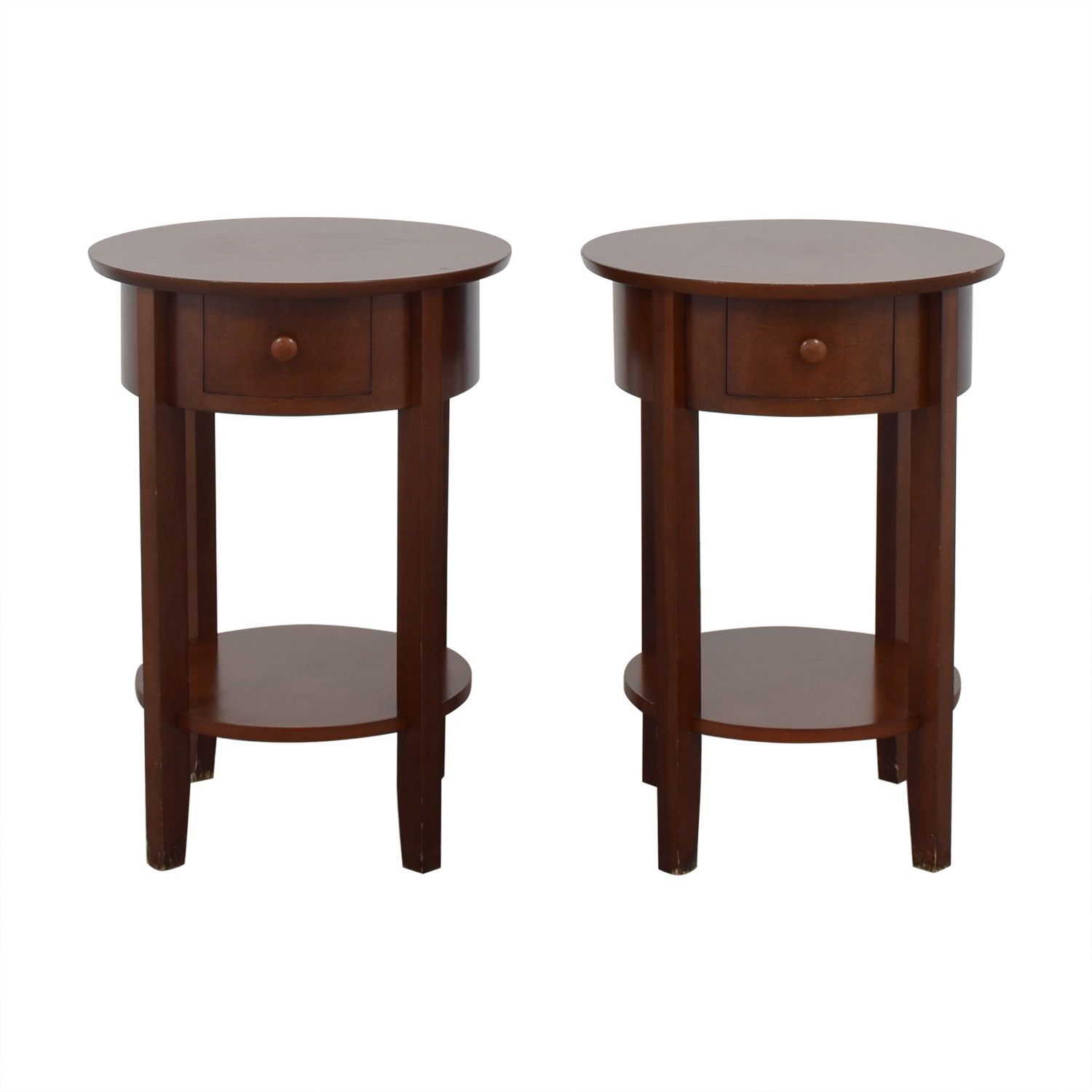 Pottery Barn Pottery Barn Oval Nightstands used