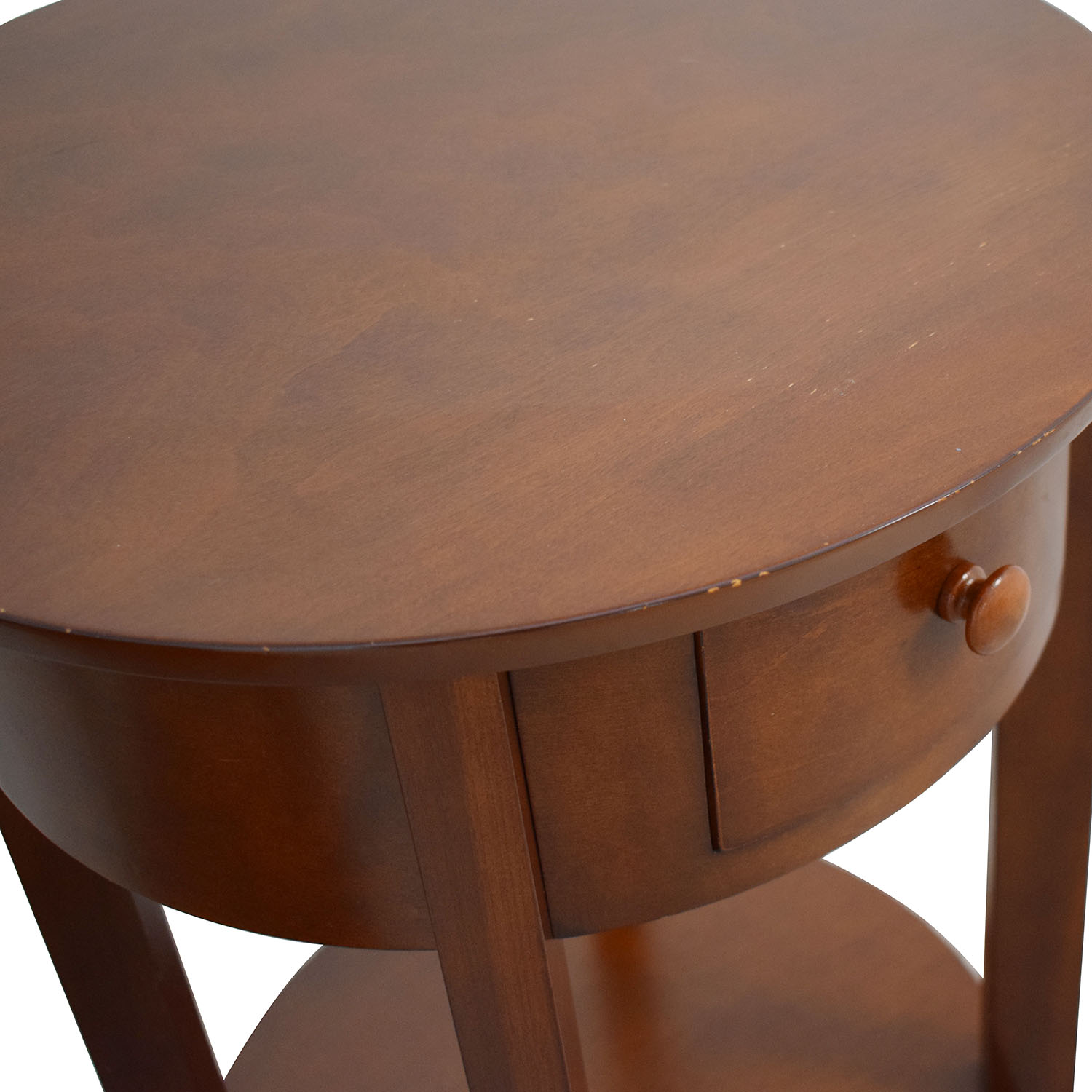 Pottery Barn Pottery Barn Oval Nightstands End Tables