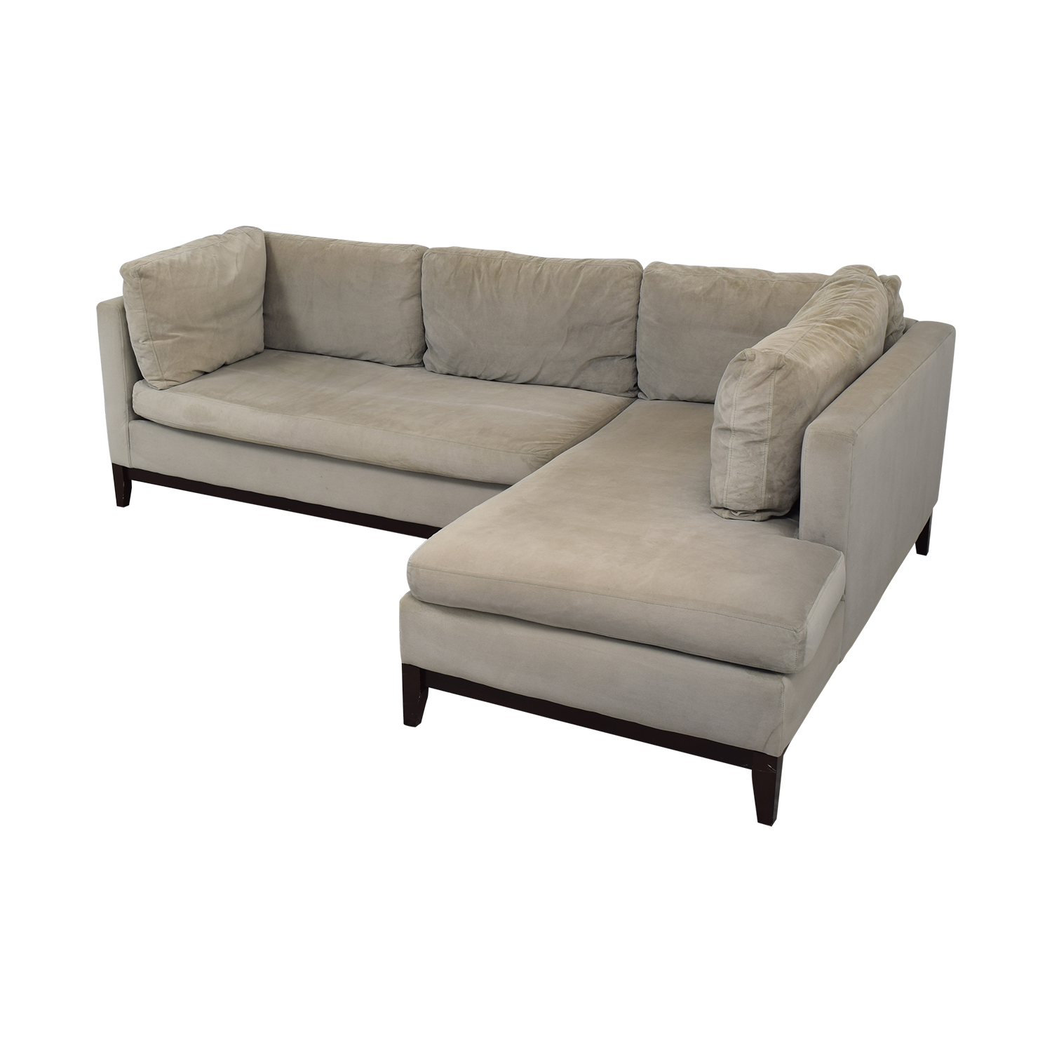 West Elm West Elm Blake Chaise Sectional Sofa discount