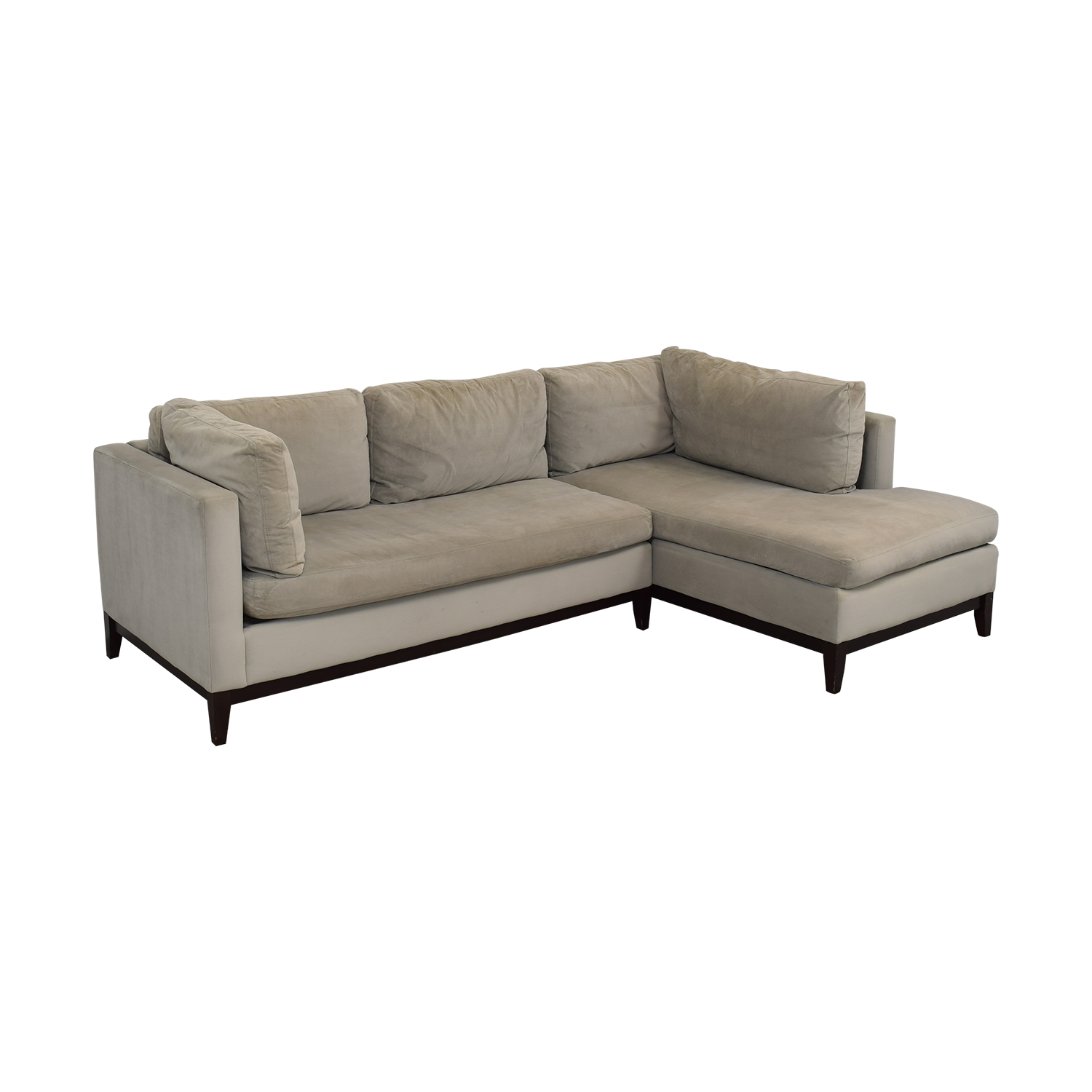 West Elm West Elm Blake Chaise Sectional Sofa second hand