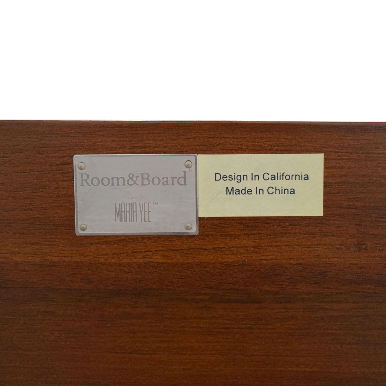 shop Room & Board Mondo Queen Bedframe Room & Board Beds