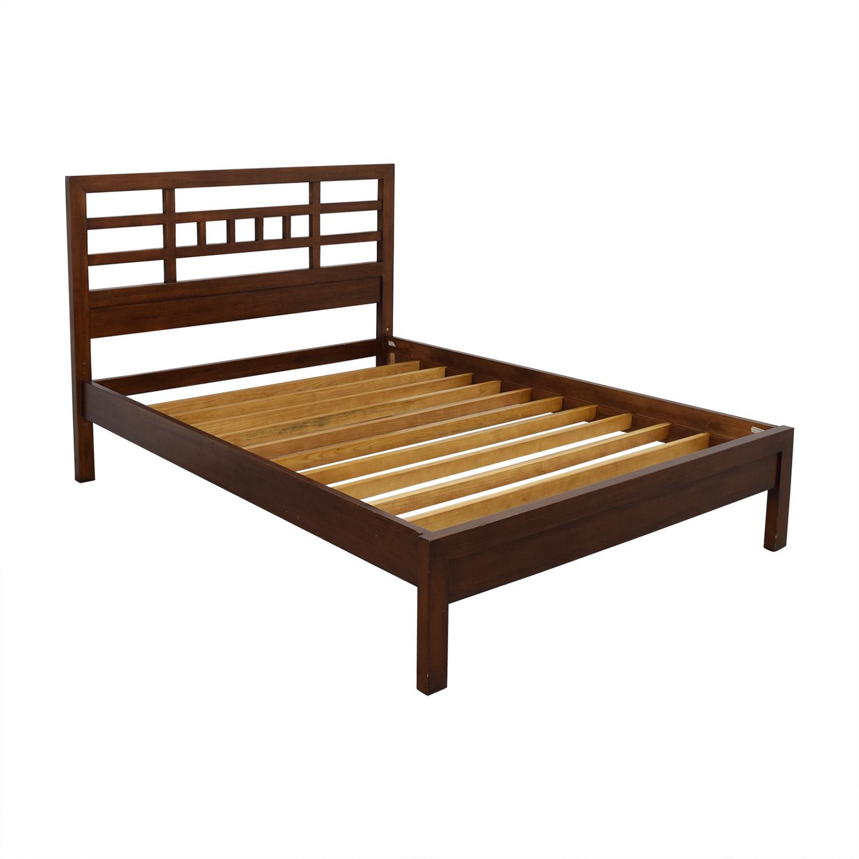 buy Room & Board Mondo Queen Bedframe Room & Board