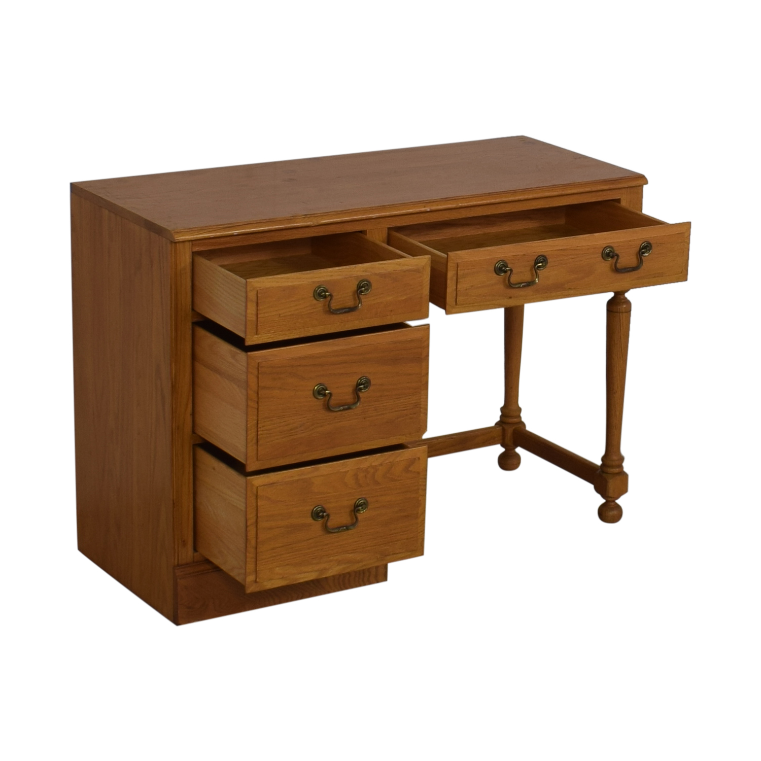 Ethan Allen Canterbury Chippendale Desk and Chair sale