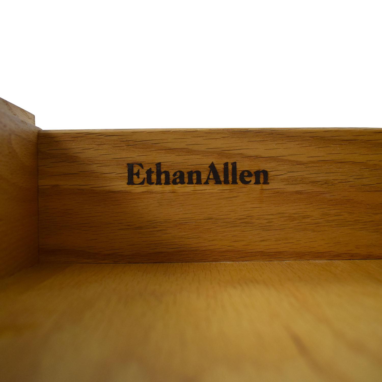 Ethan Allen Ethan Allen Canterbury Chippendale Hutch second hand