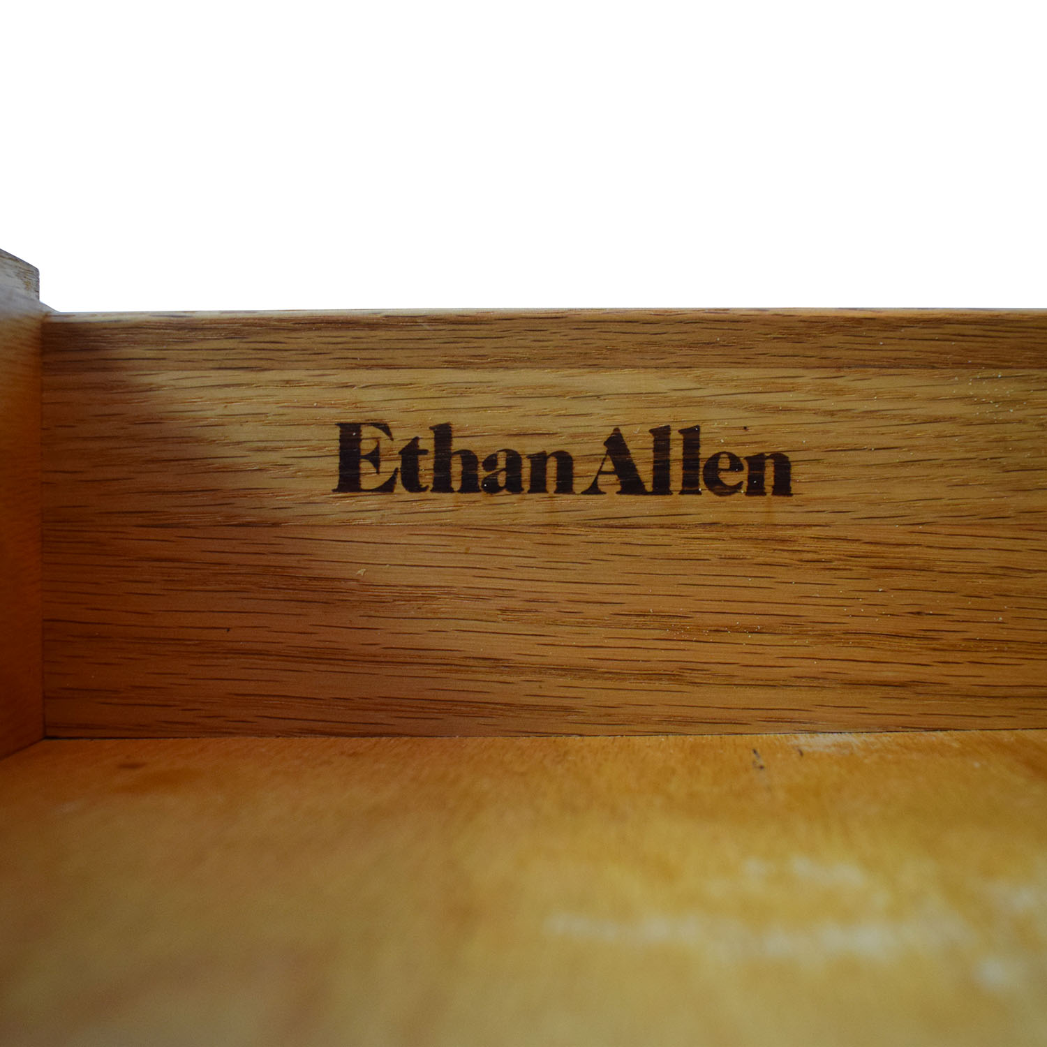 Ethan Allen Canterbury Oak Chippendale Display Case and Cabinet Storage