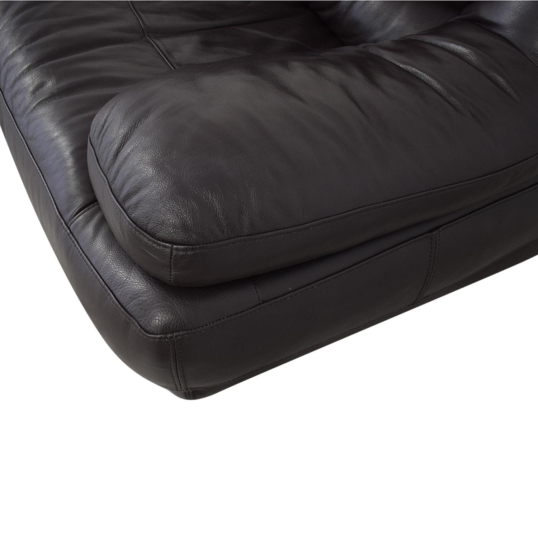 Raymour & Flanigan Raymour & Flanigan Leather Sofa nyc