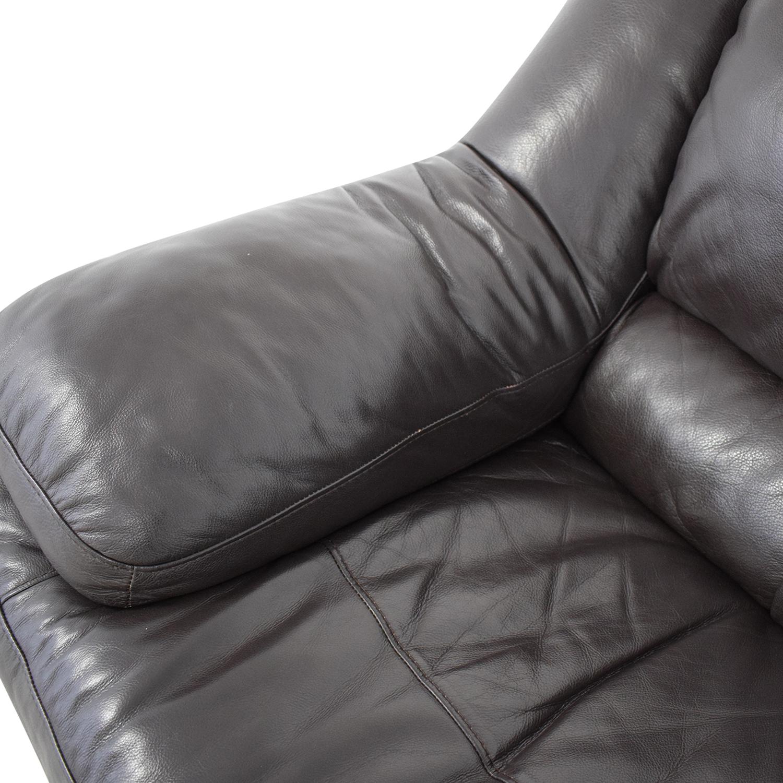 Raymour & Flanigan Raymour & Flanigan Leather Sofa nj