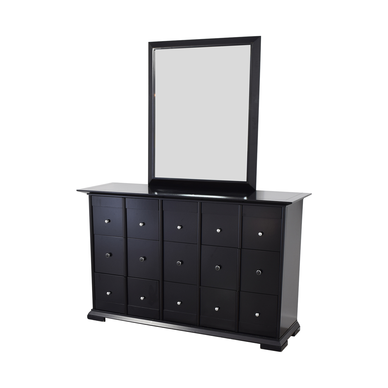 buy Raymour & Flanigan Dresser with Mirror Raymour & Flanigan Dressers