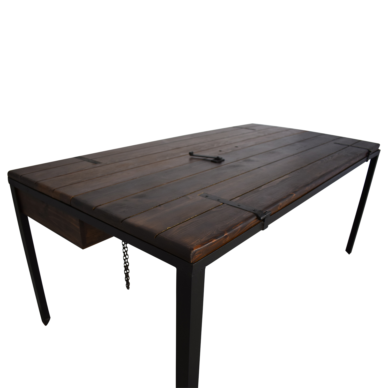 Dot & Bo Dot & Bo Door Top Convertible Dining Table or Desk ct