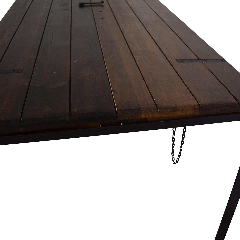 Dot & Bo Door Top Convertible Dining Table or Desk Dot & Bo