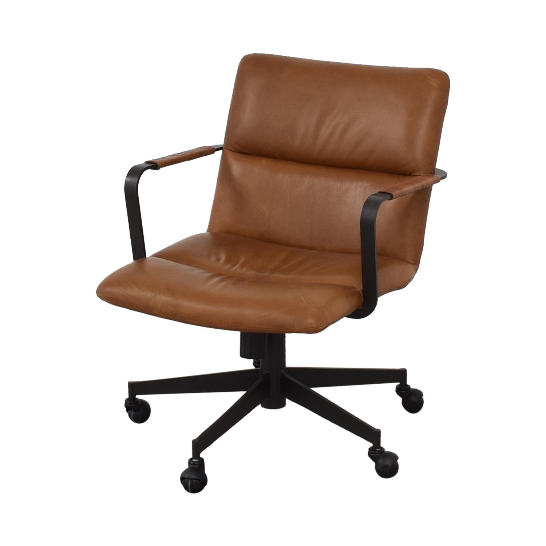 West Elm West Elm Cooper Mid-Century Swivel Office Chair for sale