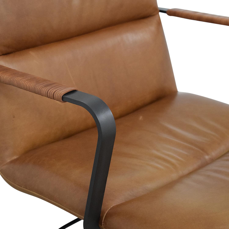 West Elm West Elm Cooper Mid-Century Swivel Office Chair price