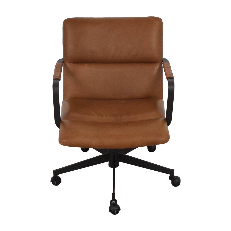 stunning west elm office chair | 40% OFF - West Elm West Elm Cooper Mid-Century Swivel ...