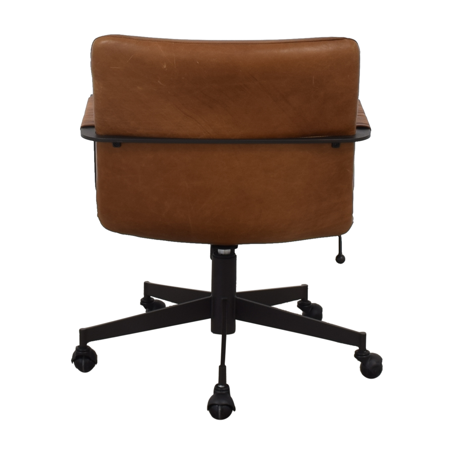 buy West Elm Cooper Mid-Century Swivel Office Chair West Elm Chairs
