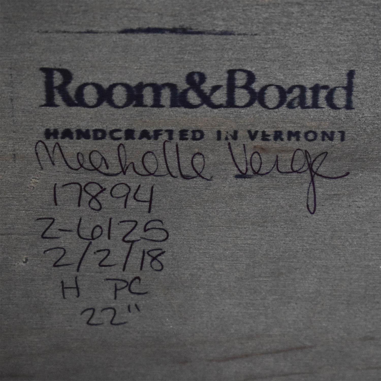 Room & Board Room & Board Greene End Table black