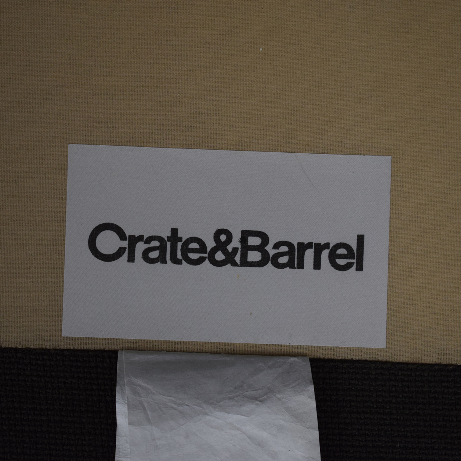 Crate & Barrel Crate & Barrel Two Piece Sectional with Chaise price