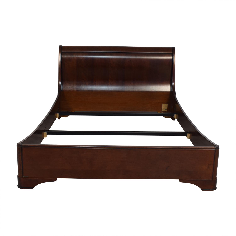 shop Grange Louis Philippe Sleigh Queen Bed Grange Beds