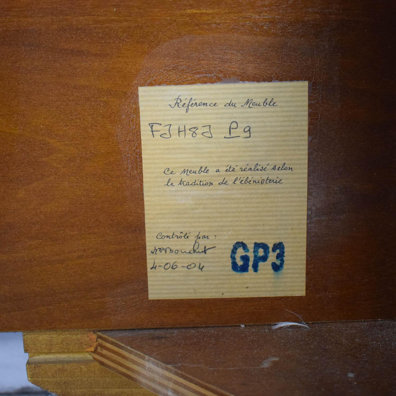 Grange Grange Louis Philippe Sleigh Queen Bed ma