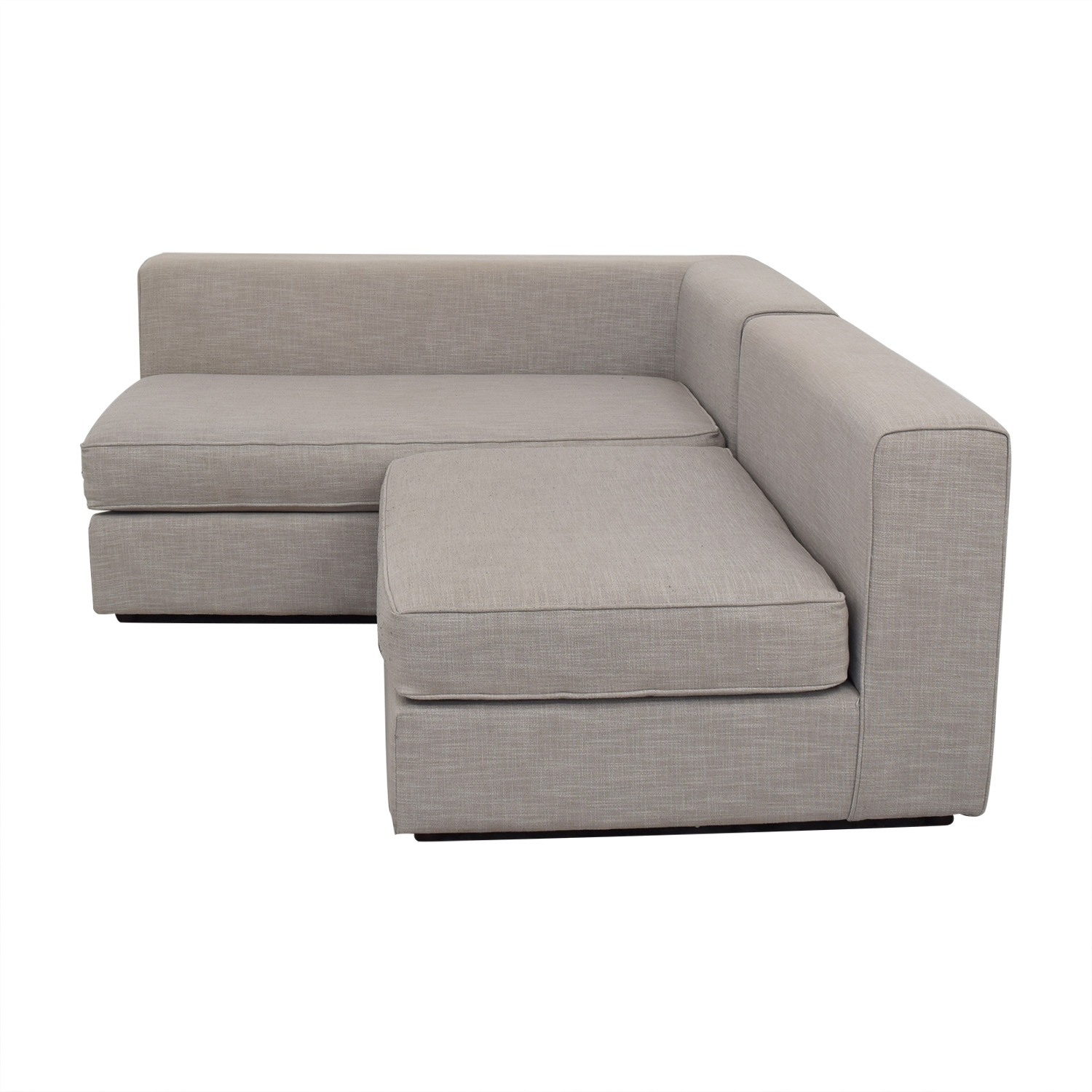 Groovy 57 Off West Elm West Elm Urban Sectional Sofa Sofas Pabps2019 Chair Design Images Pabps2019Com