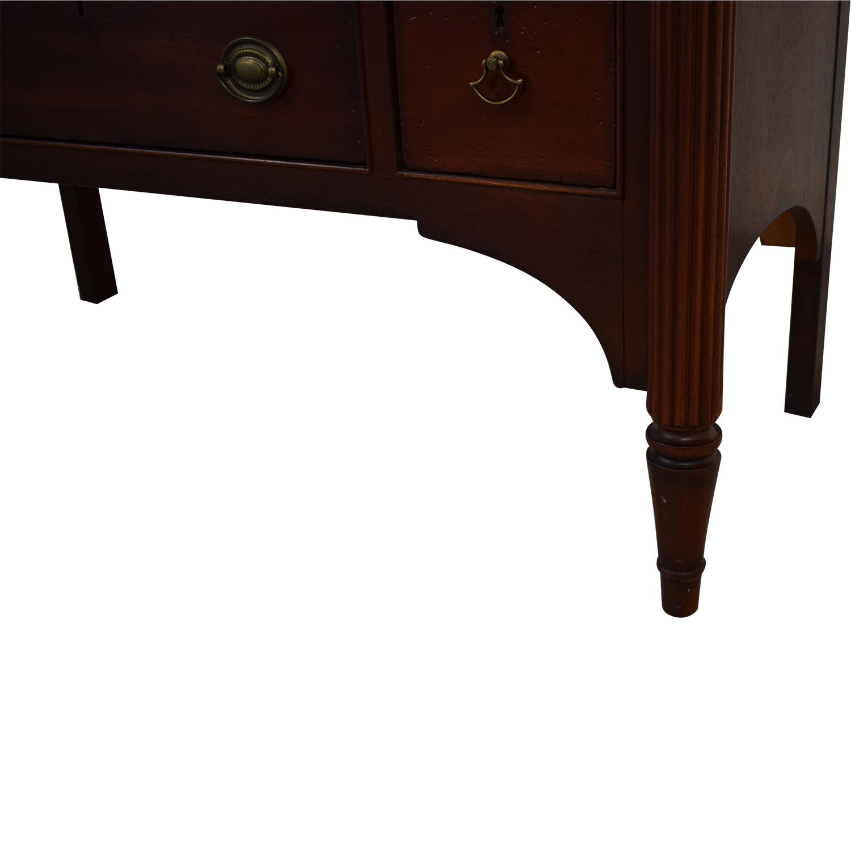 shop Drexel Heritage Side Console Drexel Heritage Cabinets & Sideboards