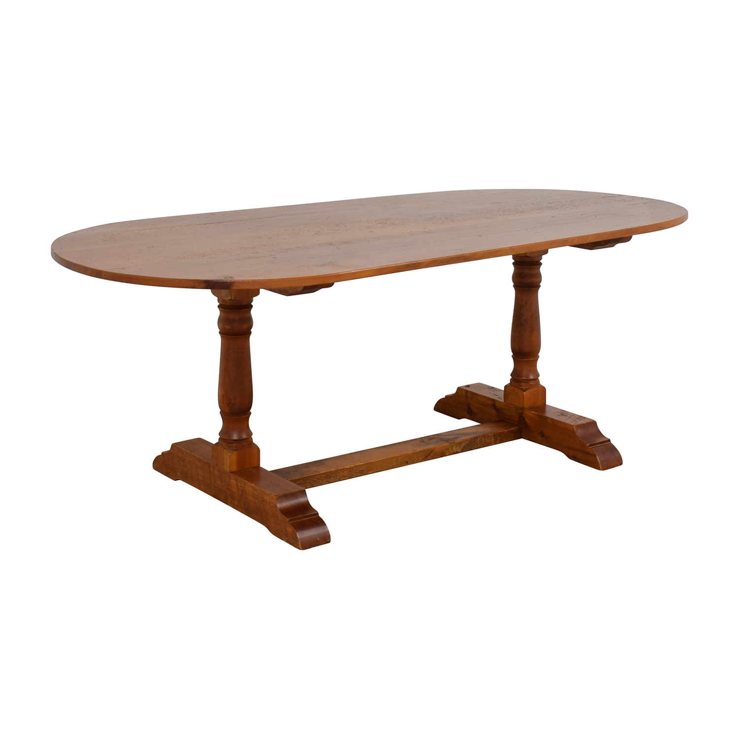 Country Willow County Willow Oval Dining Table used