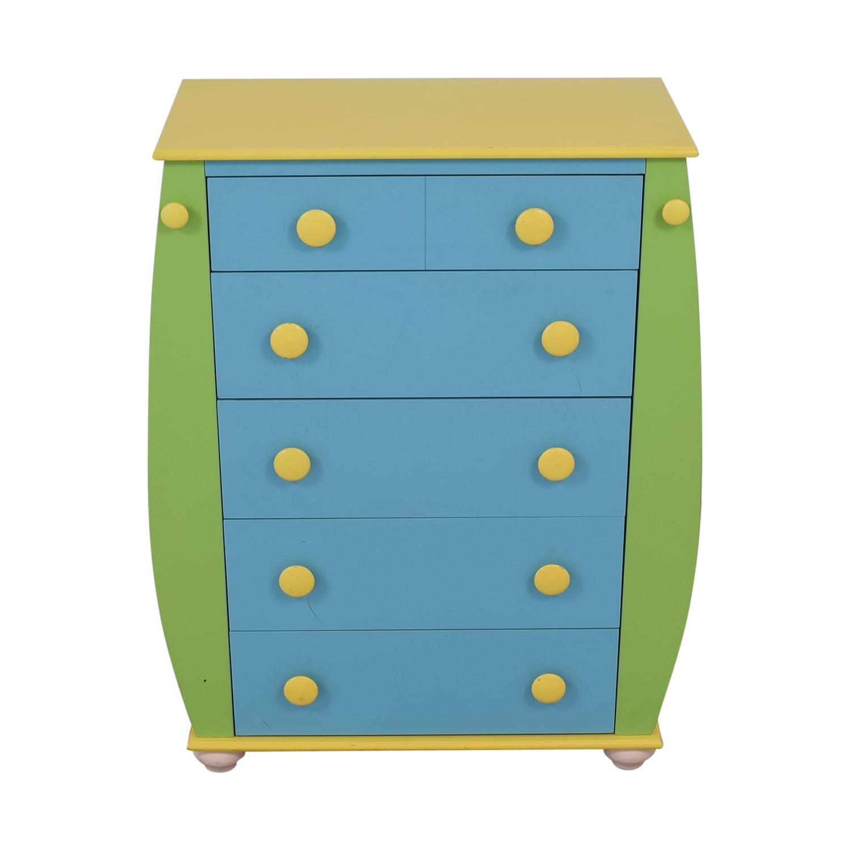 Powell Five Drawer Dresser sale