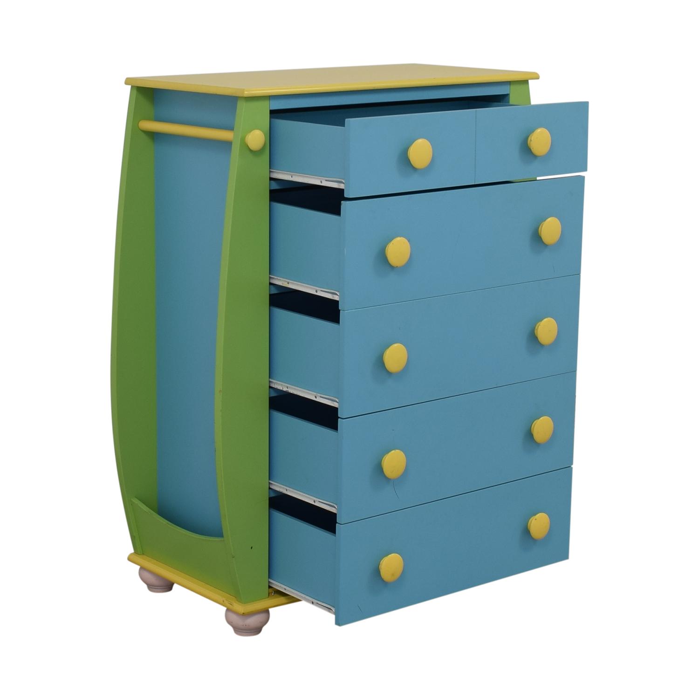 Powell Five Drawer Dresser / Dressers