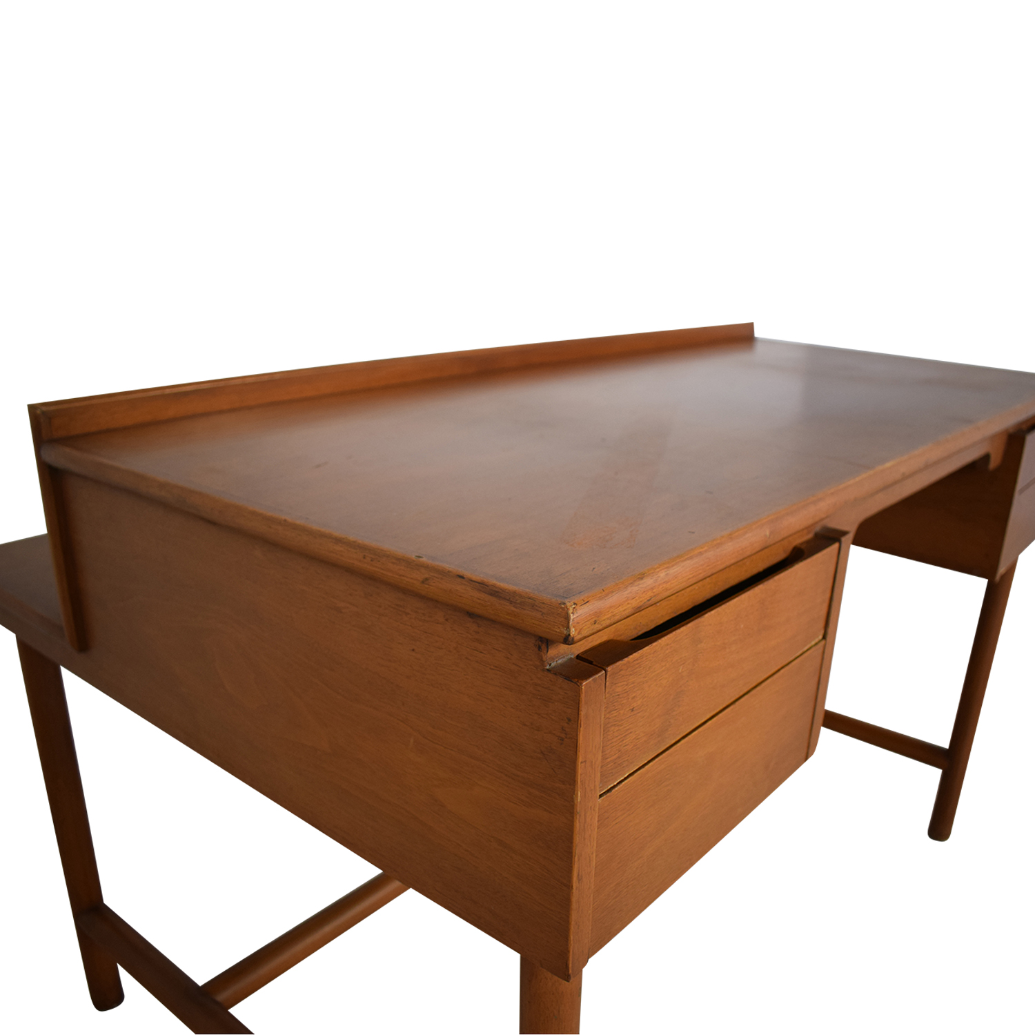 Grand Rapids Bookcase and Chair Co Mid-Century Walnut Desk / Home Office Desks