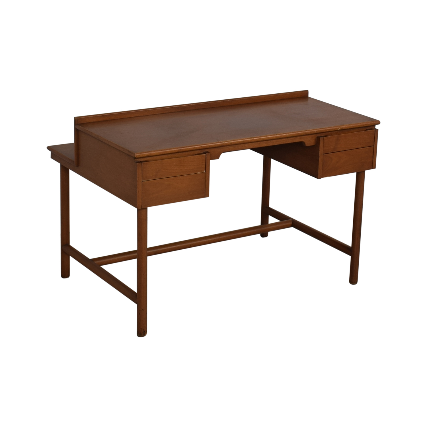 Grand Rapids Bookcase and Chair Co. Grand Rapids Bookcase and Chair Co Mid-Century Walnut Desk discount