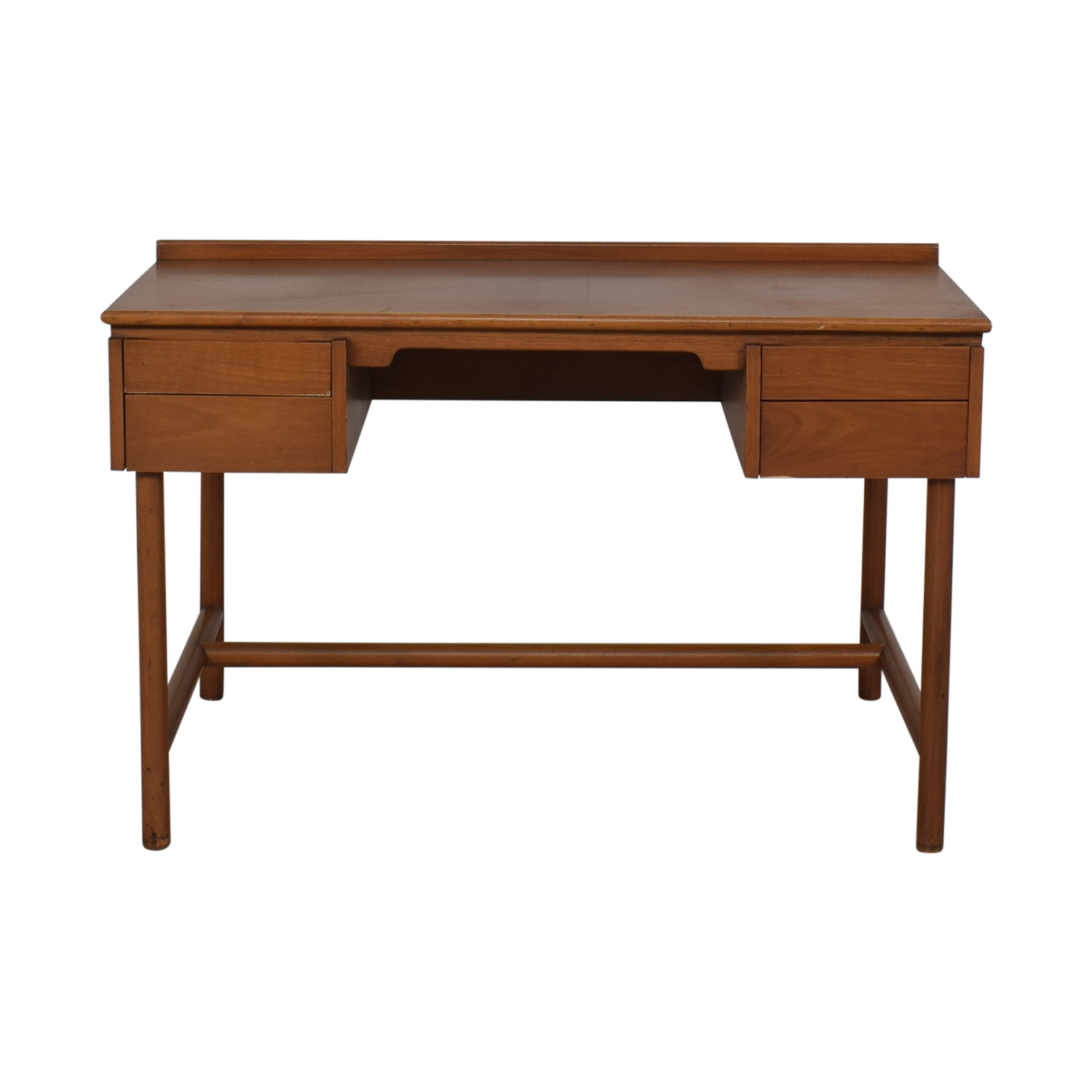 Grand Rapids Bookcase and Chair Co. Grand Rapids Bookcase and Chair Co Mid-Century Walnut Desk for sale