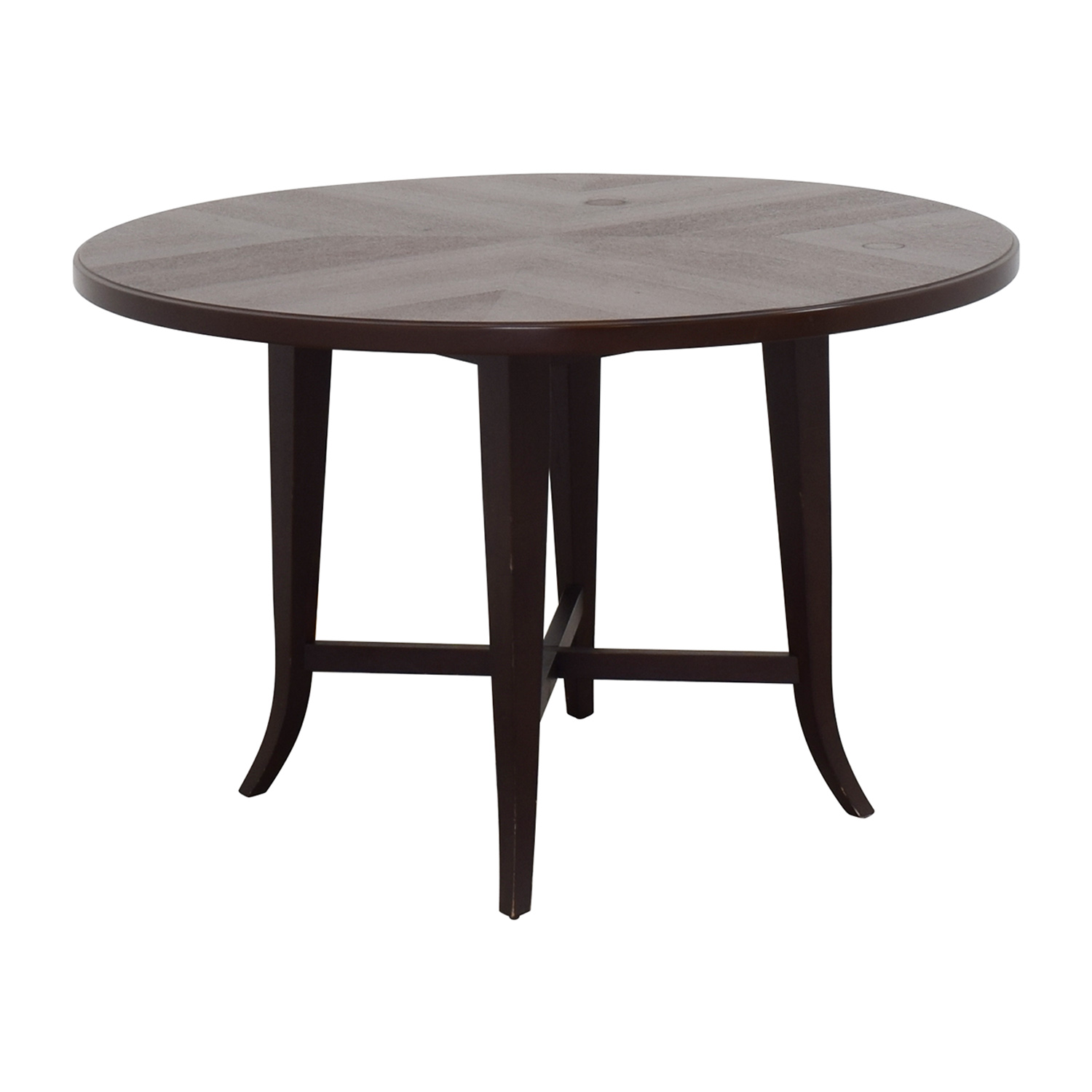 Crate & Barrel Round Dining Table sale