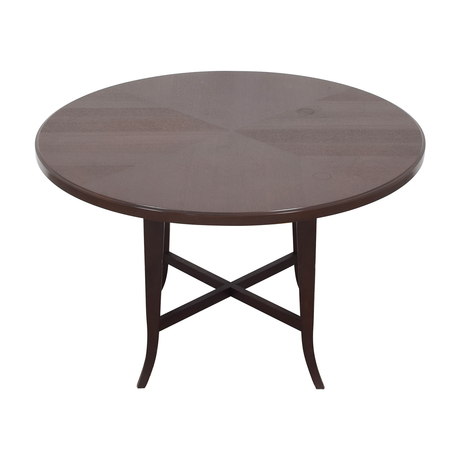 Crate & Barrel Round Dining Table / Dinner Tables