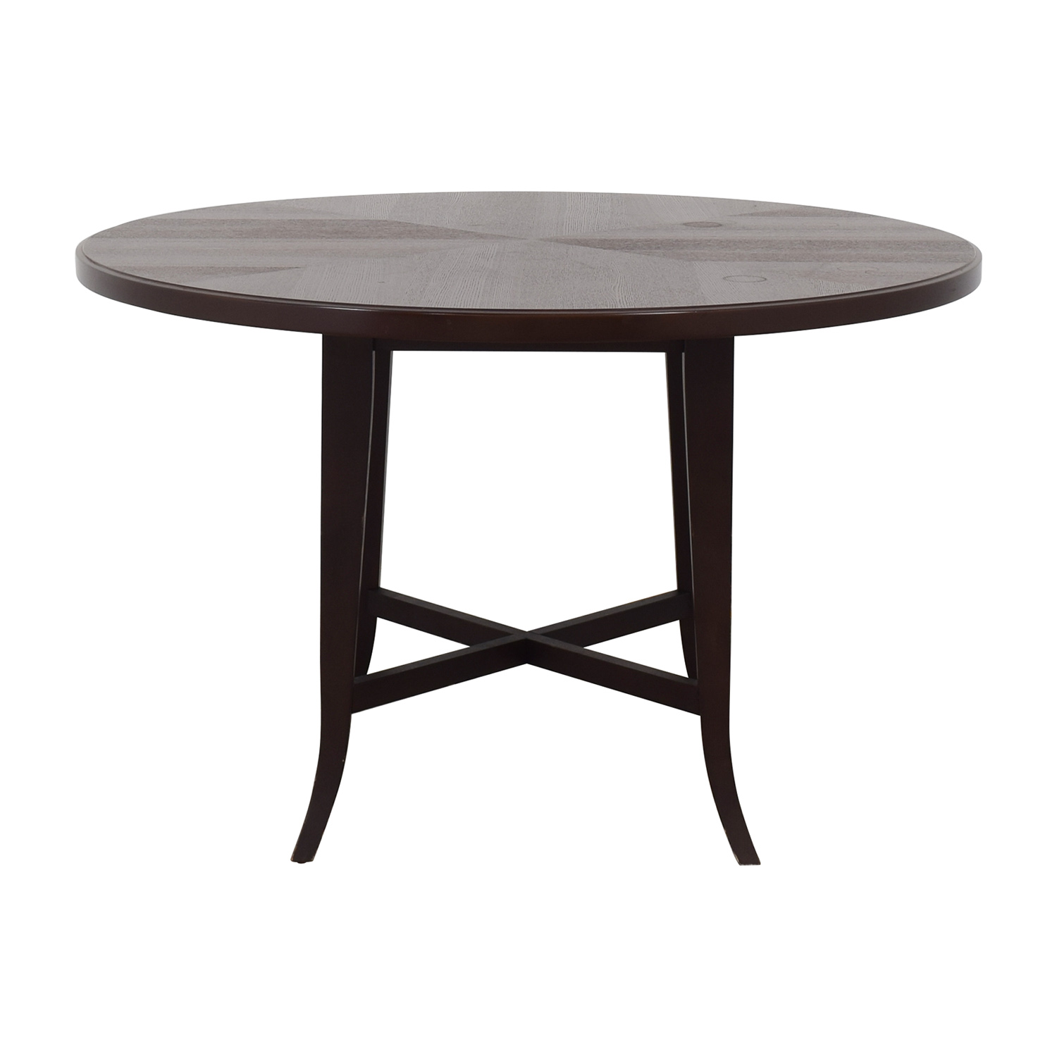 shop Crate & Barrel Round Dining Table Crate & Barrel Tables