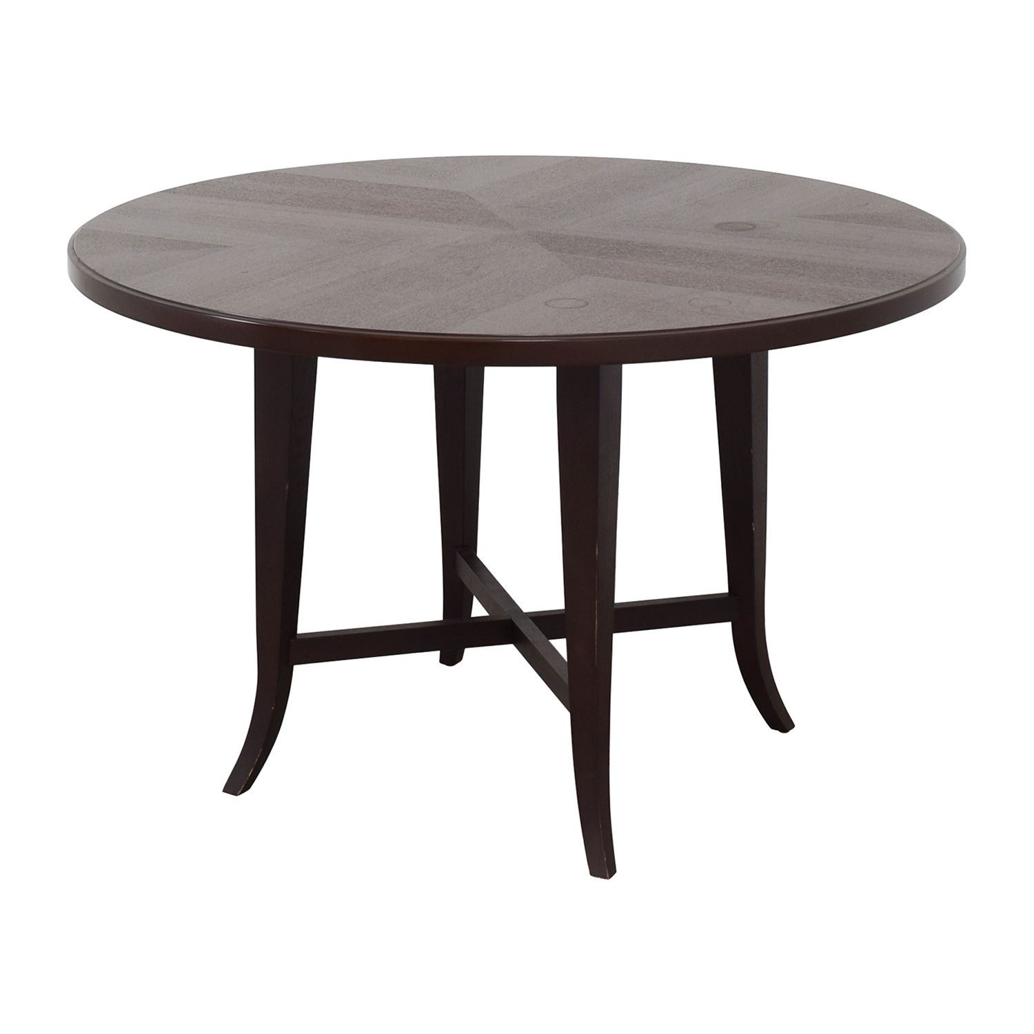 Crate & Barrel Crate & Barrel Round Dining Table for sale
