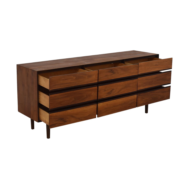 Stanley Furniture Stanley Furniture Royal American Mid Century Dresser brown