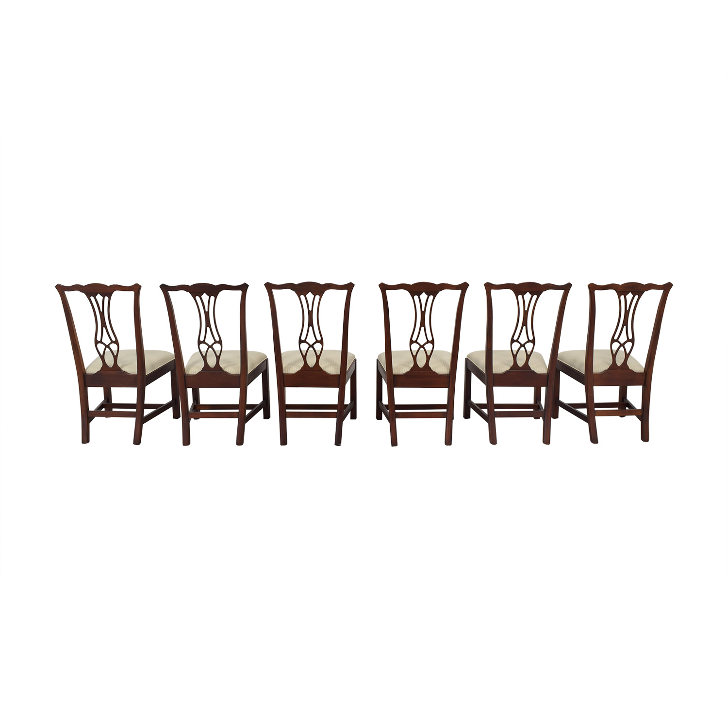 Drexel Heritage Upholstered Dining Chairs sale