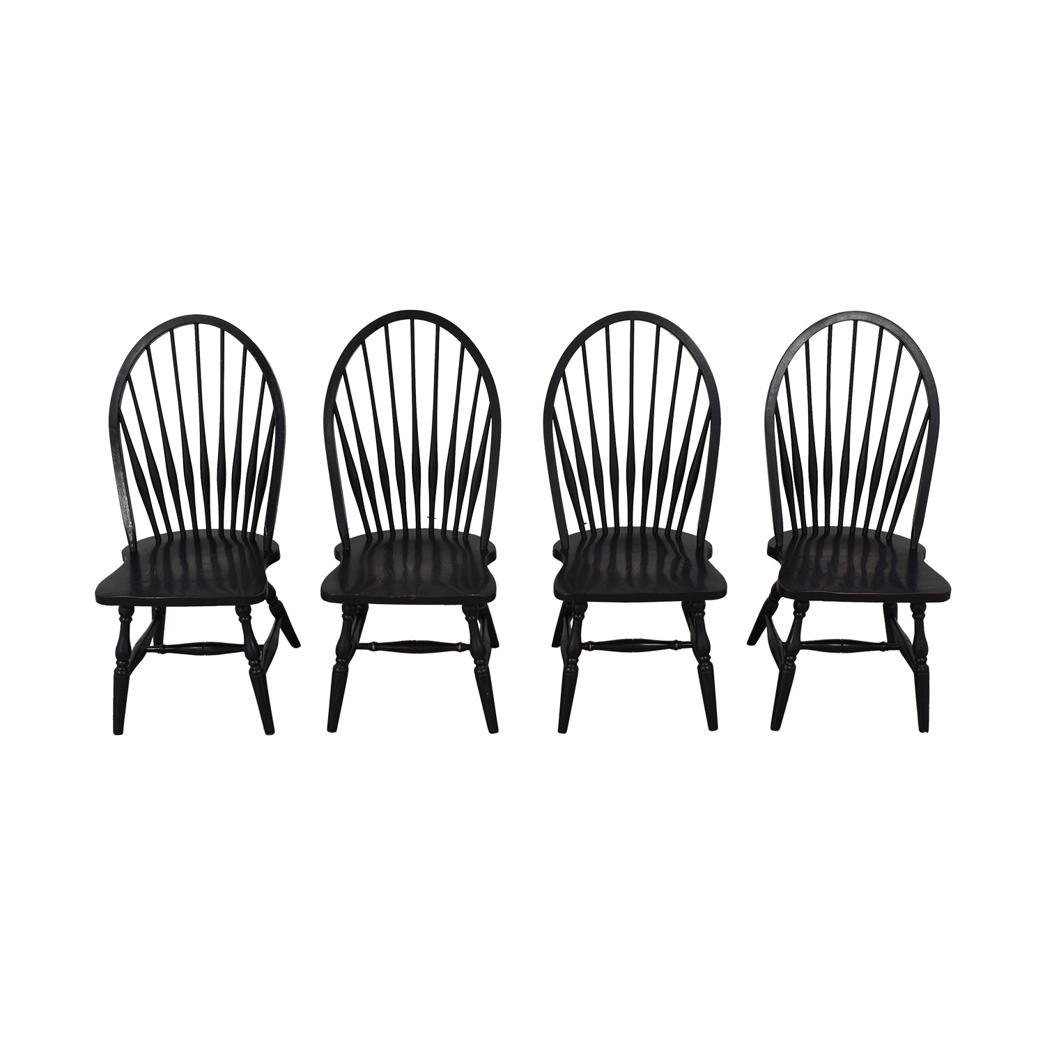 Country Willow Country Willow Windsor Dining Chairs used