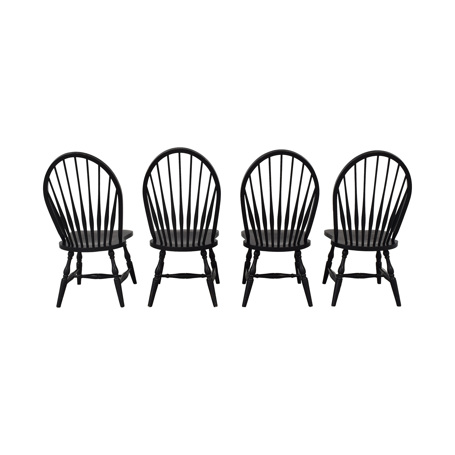 buy Country Willow Windsor Dining Chairs Country Willow Dining Chairs