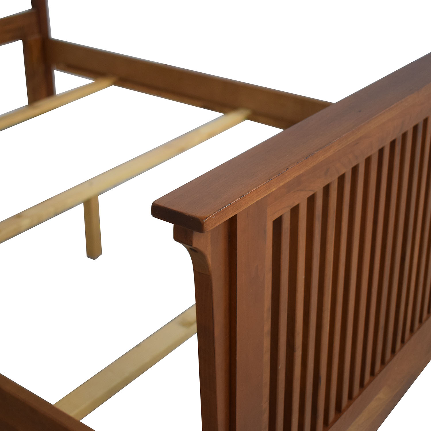 Queen Bed Frame with Headboard and Footboard second hand