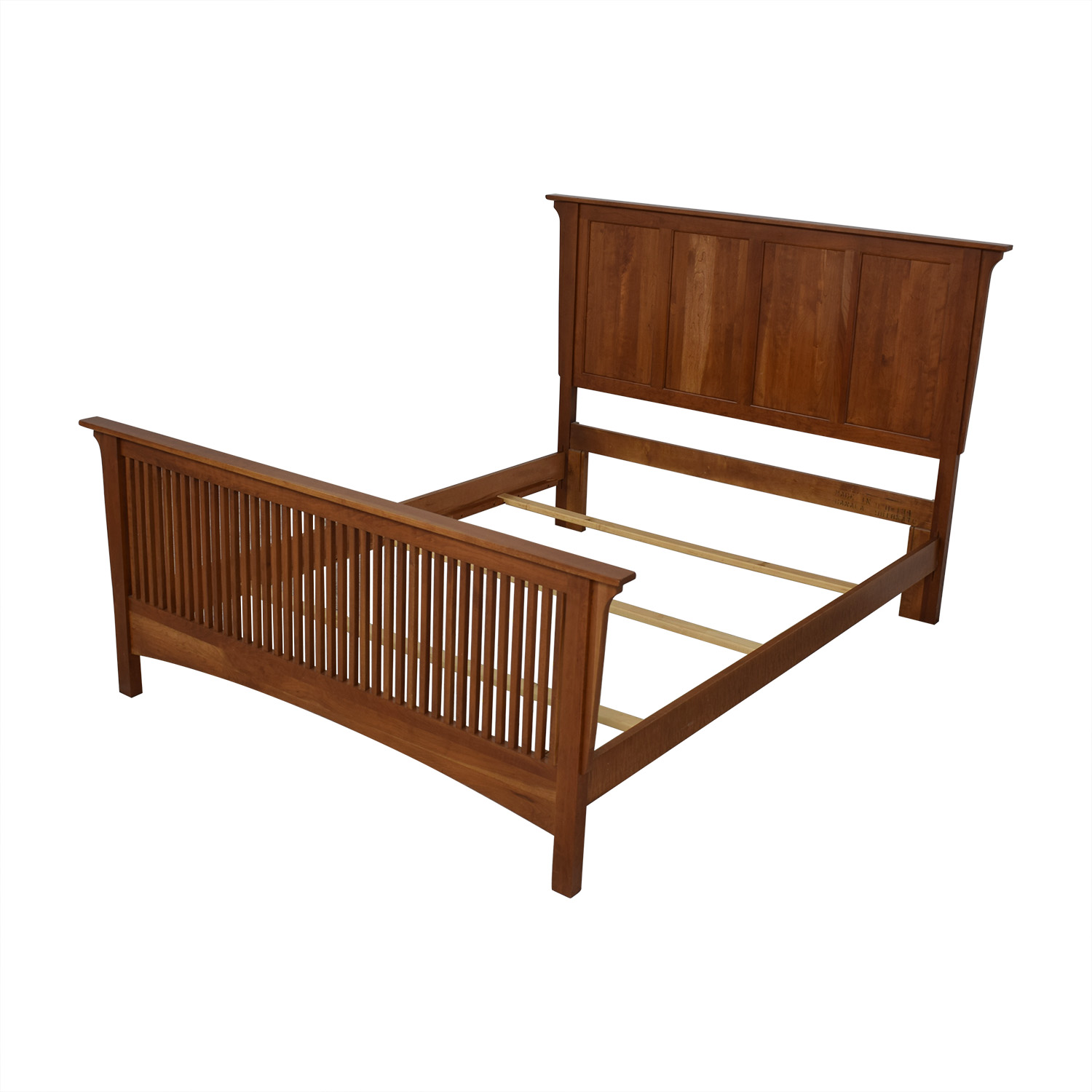 Queen Bed Frame with Headboard and Footboard coupon