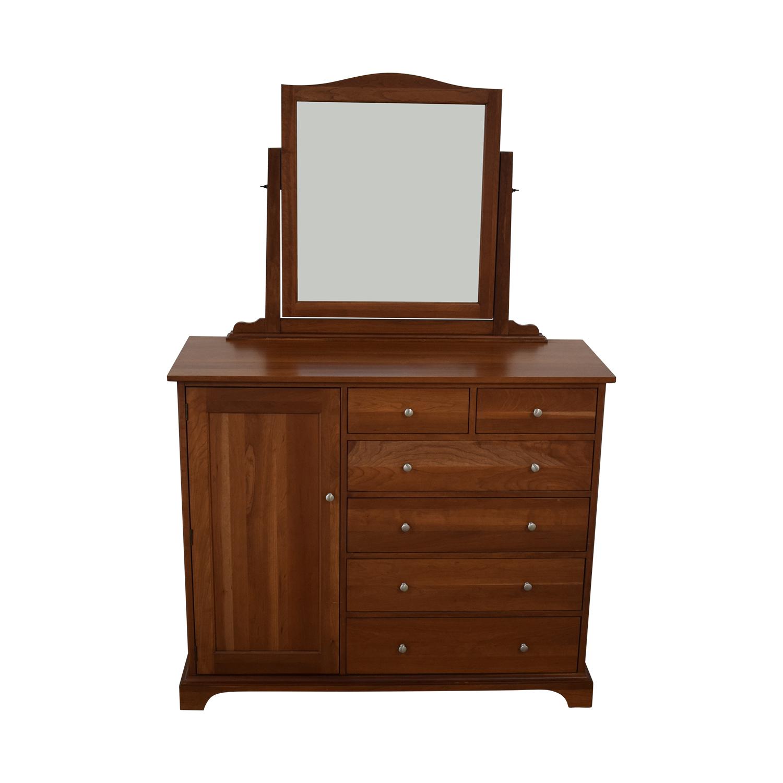 Durham Furniture Durham Furniture Cabinet Dresser with Mirror nj