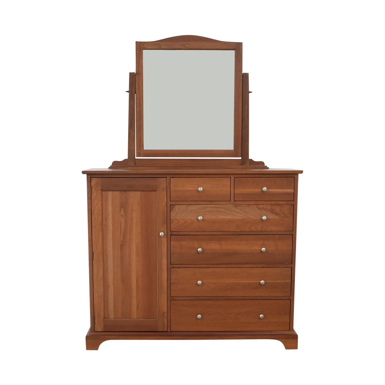 Durham Furniture Durham Furniture Cabinet Dresser with Mirror discount