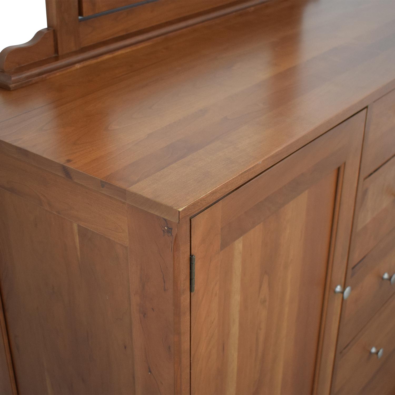 shop Durham Furniture Durham Furniture Cabinet Dresser with Mirror online