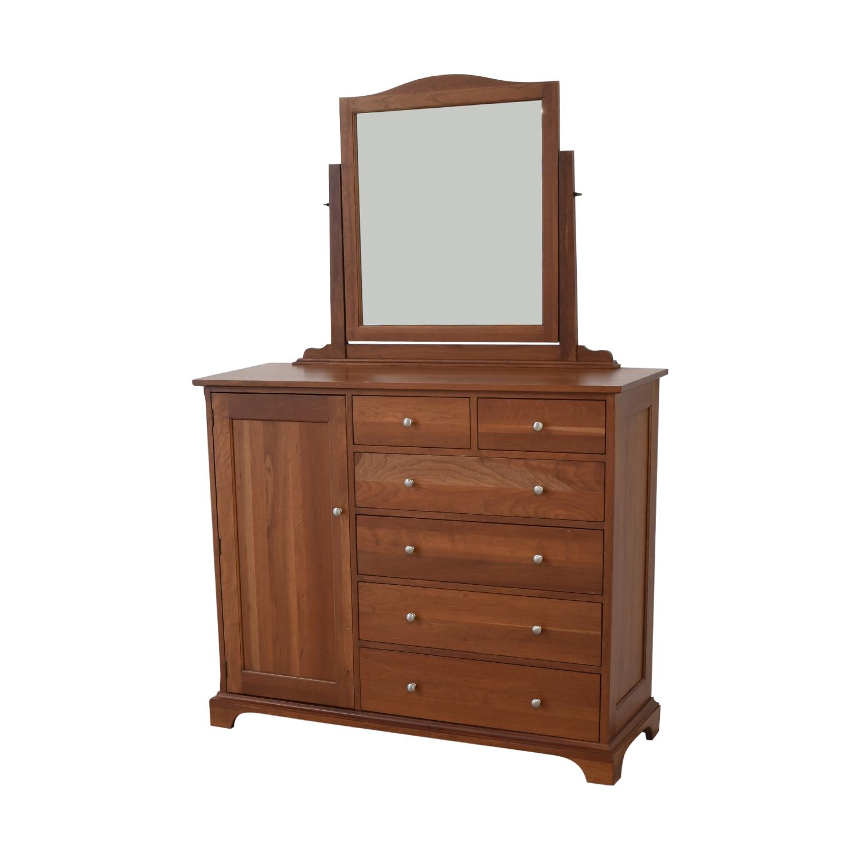 Durham Furniture Durham Furniture Cabinet Dresser with Mirror