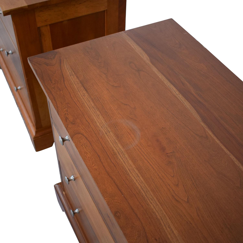 Durham Furniture Durham Furniture Three Drawer Night Stands nj