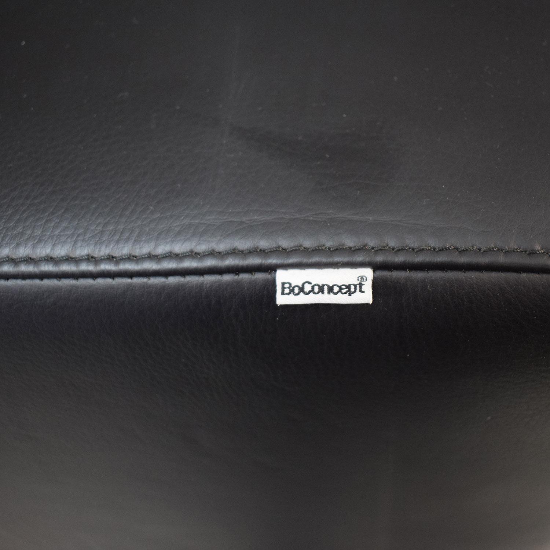BoConcept BoConcept Mezzo Black Leather Sofa used