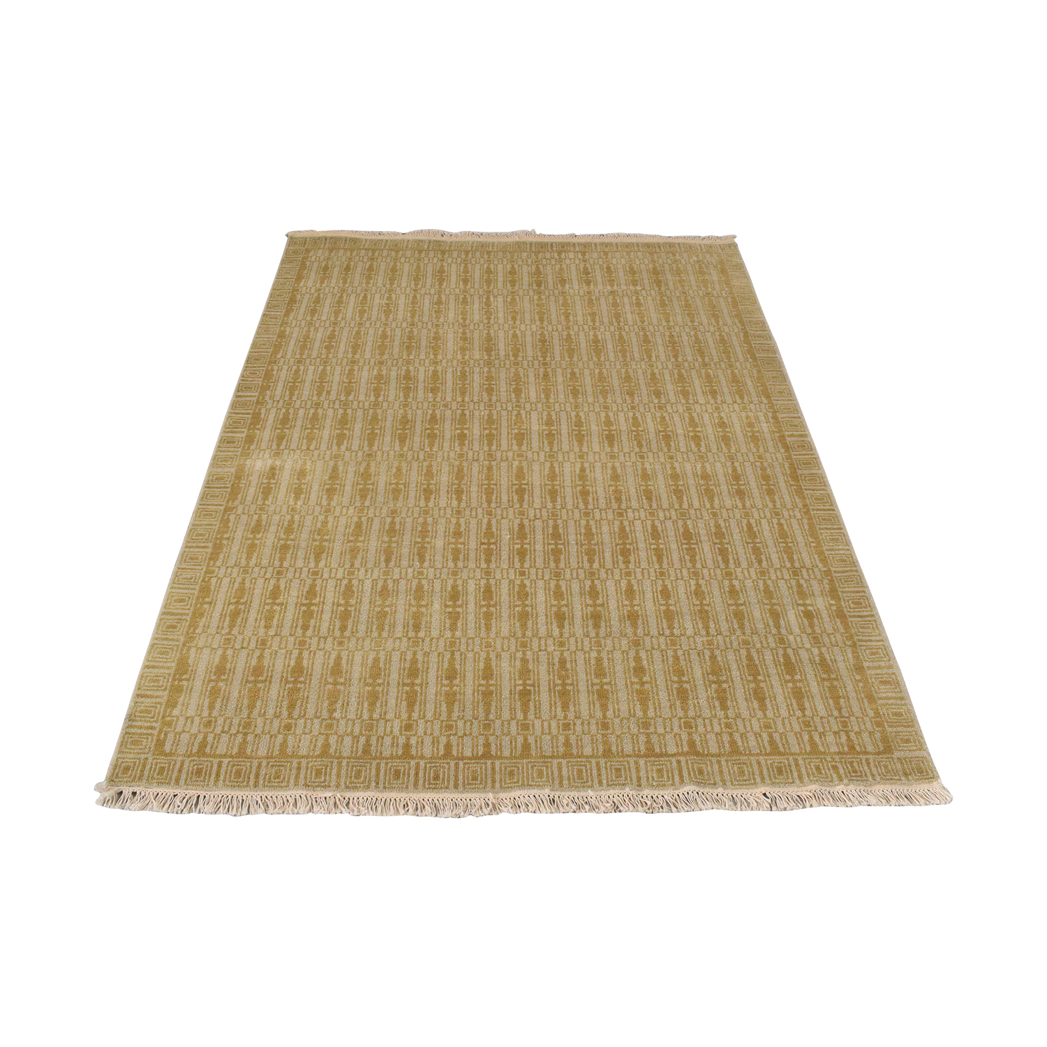 Room & Board Room & Board Tulum Hand Knotted Rug yellow