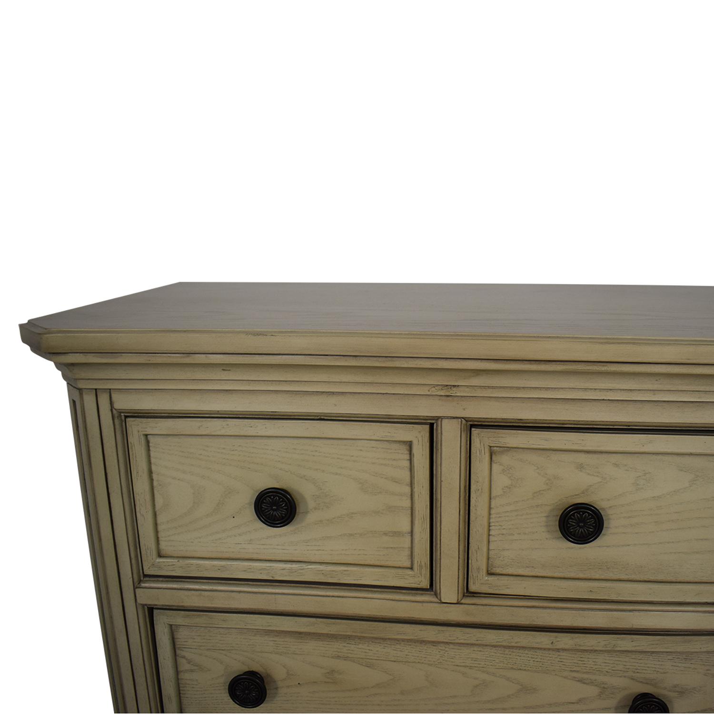 Ashley Furniture Ashley Furniture Demarlos Nine Drawer Dresser beige