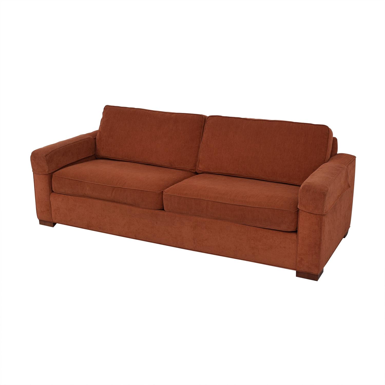 Ethan Allen Ethan Allen Two-Cushion Sofa dimensions